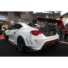 subaru brz wide body varis fr s wide body kit carbon vsdc diffuser full kit d
