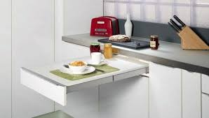 Top Flex Pull Out Table  Sariga Designer Kitchens  Kitchen - Kitchen pull out table