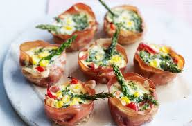 mini parma ham vegetable recipe goodtoknow