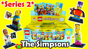 Lego Blind Packs Lego Minifigures The Simpsons Series 2 Blind Bags 71009 Youtube