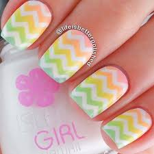 45 chevron nail art ideas art and design