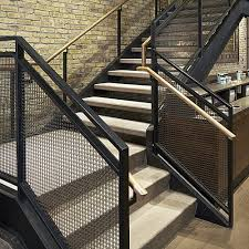 Banister Rails Metal Images Of Contemporary Wire Mesh Stair Railings Google Search