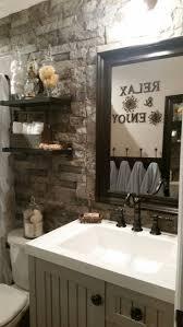 popular ideas rustic half bathroom ideas with best 10 rustic