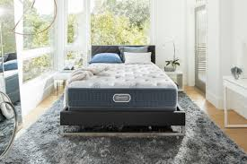beautyrest silver blue springs plush full mattress