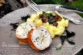 cuisiner rable de lapin râble de lapin farci aux trompettes de la mort la cuisine de doria