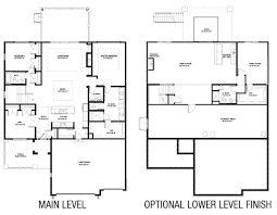 New Homes Floor Plans Medinah Floorplan Hubbell Homes Building New Homes In Des