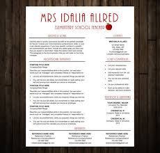 Elementary Teacher Resume Sample by 18 Best Graphic Design Images On Pinterest Modern Resume