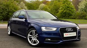 Audi Q5 8040 - used audi a4 s line blue cars for sale motors co uk