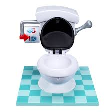 amazon com toilet trouble game toys u0026 games