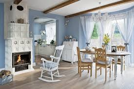 interior design country style homes blue and white country home in poland interior design files