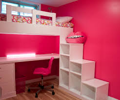 bedroom design oak loft beds for teens with red bedding and red