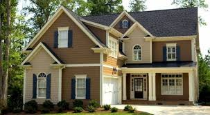 exterior paint colors with brown roof best exterior house