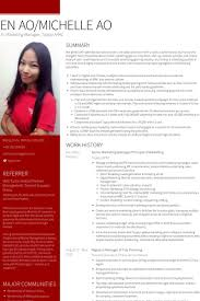 senior marketing manager resume samples visualcv resume samples