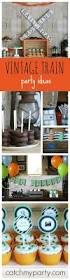 interior design top train themed birthday party decorations