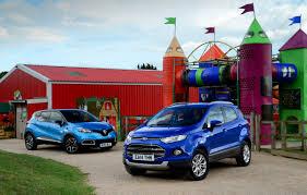 nissan juke vs ford ecosport ford ecosport vs renault captur auto express