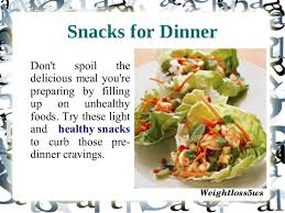 light dinner recipes for weight loss snacks for weight loss
