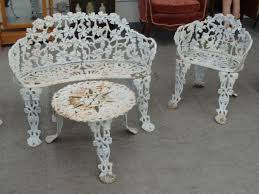 Cast Iron Bistro Table And Chairs 1326 Best Vintage Wrought Iron Patio Furniture Images On Pinterest