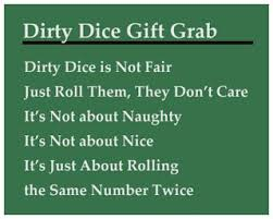 dirty dice christmas gift grab christmas gift exchange games