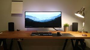 Desk Setup Fabulous Laptop Desk Setup With The Fight Between Aesthetics And