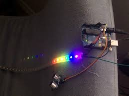 Motion Activated Night Light Neopixel Motion Activated Night Light Hackster Io