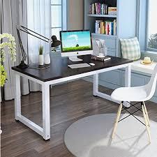 Modern Computer Desks Amazon Com Tribesigns Modern Simple Style Computer Desk Pc