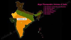 Map Of Northern India by The Geological Structure Of India U2013 Civilsdaily