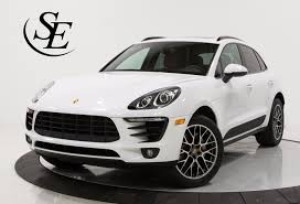 porsche macan 2016 white 2016 porsche macan s stock 22516 for sale near pompano beach fl