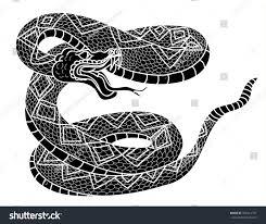 snake cobra style cobra vector stock vector 706614751