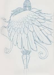 sketch flying monkey by snaketoast on deviantart
