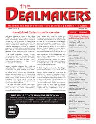 dealmakers magazine january 28 2011 by the dealmakers magazine
