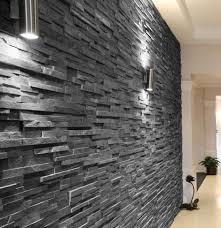 Black Slate Bathrooms Slate Black Split Face 15x60 Wall Tile An Interlocking Natural