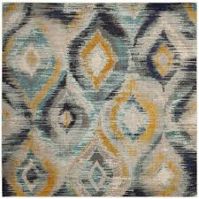 Yellow And Grey Outdoor Rug Uncategorized Grey And Yellow Area Rug With Greatest Coffee