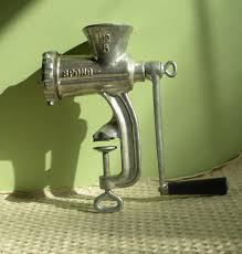 no 40 deluxe chopper food meat grinder new by creekside17050