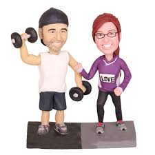 weight lifting cake topper weightlifting wedding cake toppers