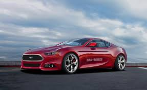 2015 ford mustang 2015 ford mustang artist s rendering pictures photo gallery