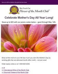 flower of the month club the fresh cut flower of the month club coupons october 2017