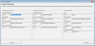 membuat database penjualan xp retur pembelian mencatat barang yang diretur ke supplier software