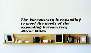 the bureaucracy is expanding to meet the needs of the expanding oscar wilde famous inspirational life quote vinyl wall decal 22 colors available picture art image living room bedroom
