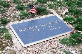 hoax busters call wernher von braun u0027s headstone