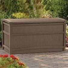 resin wicker storage bench foter