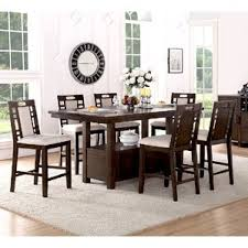 High Dining Room Tables Dining Room Cute High Dining Room Table Brown Counter Height