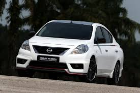 nissan almera rear bumper price nissan versa sunny nismo performance package concept revealed