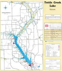 Kansas Map Carnahan Creek Near Tuttle Creek Lake In Brandon Florida Hiking