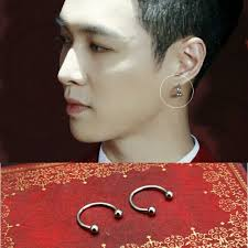 exo earrings station ariess exo lay ear rings k wave on carousell