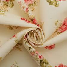 Retro Upholstery Vintage Chintz Shabby Roses Print Retro 100 Cotton Curtain