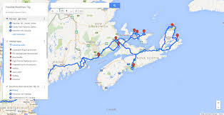 Halifax Canada Map by My Plan For A Short Road Trip Through The Maritimes Suggestions