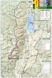 Topographic Map Of The United States by Grand Teton National Park National Geographic Trails Illustrated