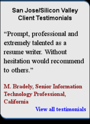Professional Resumes Writers San Jose Silicon Valley Resume Writing Services Resume Writing