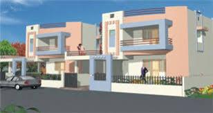 Luxury Duplex House Plans View House Plan For Premium Bungalows In Narayan Gardens Vadodara