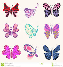 butterfly designs stock vector illustration of curve 12977833